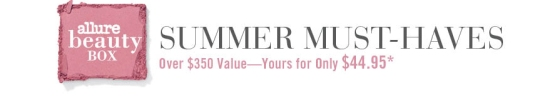 Allure Summer Must Haves