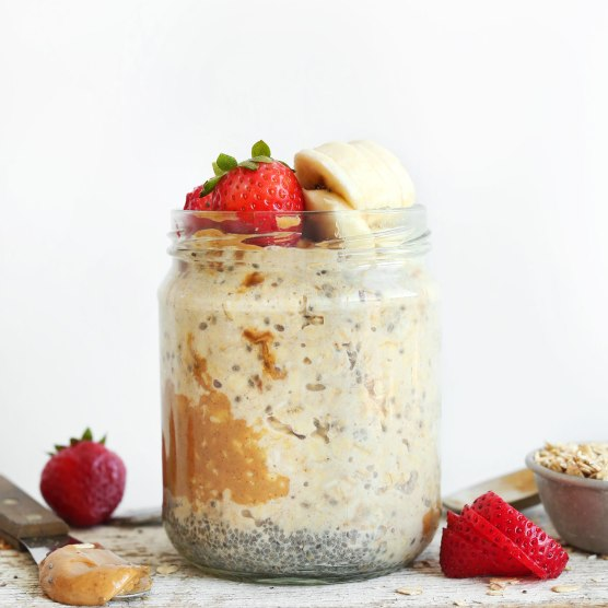 Peanut-Butter-Overnight-Oats